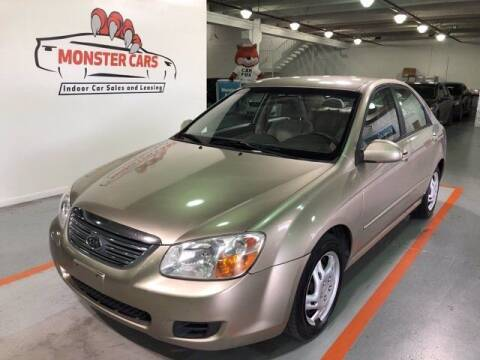 2008 Kia Spectra for sale at Monster Cars in Pompano Beach FL
