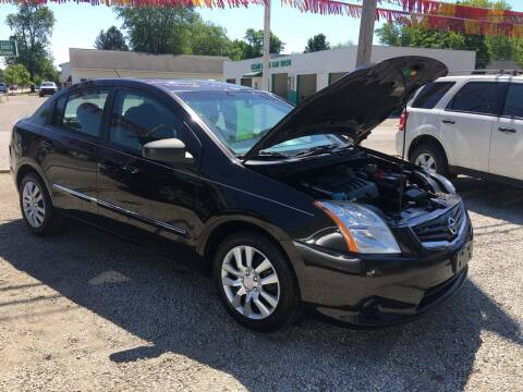 2010 Nissan Sentra for sale at Antique Motors in Plymouth IN