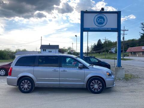 2014 Chrysler Town and Country for sale at Corry Pre Owned Auto Sales in Corry PA