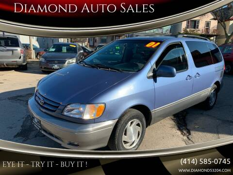 2001 Toyota Sienna for sale at Diamond Auto Sales in Milwaukee WI