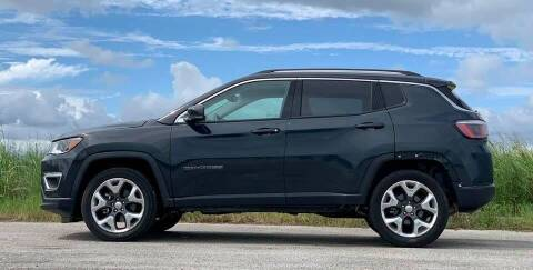 2018 Jeep Compass for sale at Palmer Auto Sales in Rosenberg TX