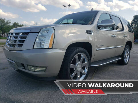 2007 Cadillac Escalade for sale at ULTIMATE AUTO IMPORTS in Longwood FL