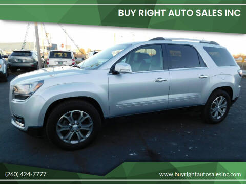 2016 GMC Acadia for sale at Buy Right Auto Sales Inc in Fort Wayne IN