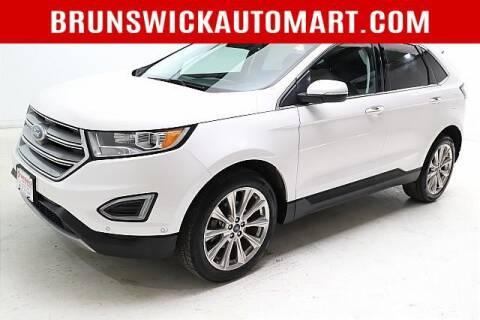 2017 Ford Edge for sale at Brunswick Auto Mart in Brunswick OH