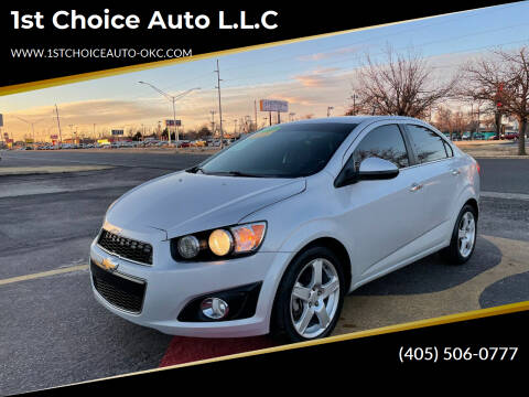 2014 Chevrolet Sonic for sale at 1st Choice Auto L.L.C in Oklahoma City OK