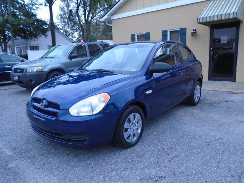 2008 Hyundai Accent for sale at Ridetime Auto in Suffolk VA