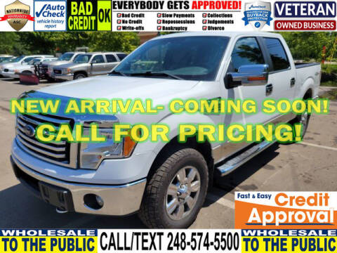 2012 Ford F-150 for sale at North Oakland Motors in Waterford MI