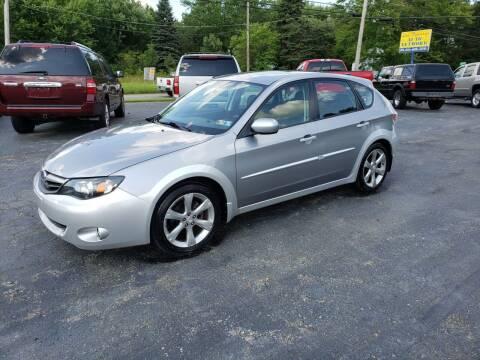 2010 Subaru Impreza for sale at Motorsports Motors LLC in Youngstown OH