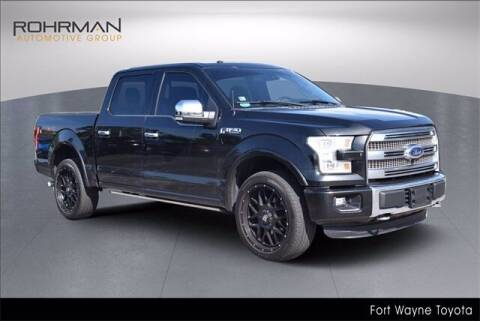 2015 Ford F-150 for sale at BOB ROHRMAN FORT WAYNE TOYOTA in Fort Wayne IN