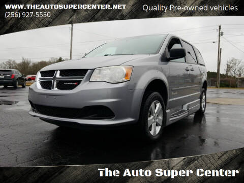 2013 Dodge Grand Caravan for sale at The Auto Super Center in Centre AL