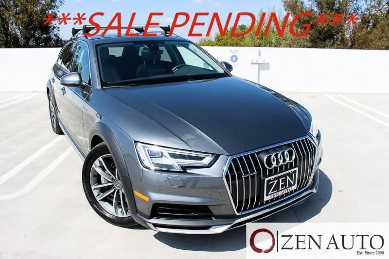 2018 Audi A4 allroad for sale at Zen Auto Sales in Sacramento CA