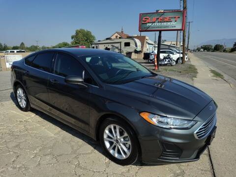 2020 Ford Fusion for sale at Sunset Auto Body in Sunset UT
