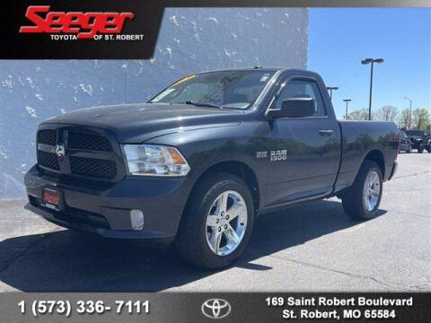 2014 RAM Ram Pickup 1500 for sale at SEEGER TOYOTA OF ST ROBERT in St Robert MO