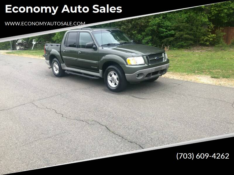 2001 Ford Explorer Sport Trac for sale at Economy Auto Sales in Dumfries VA