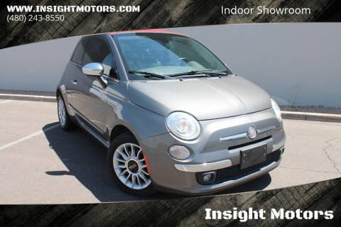 2012 FIAT 500c for sale at Insight Motors in Tempe AZ