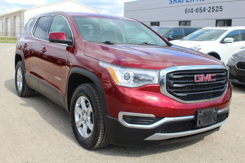 2018 GMC Acadia for sale at SHAFER AUTO GROUP in Columbus OH