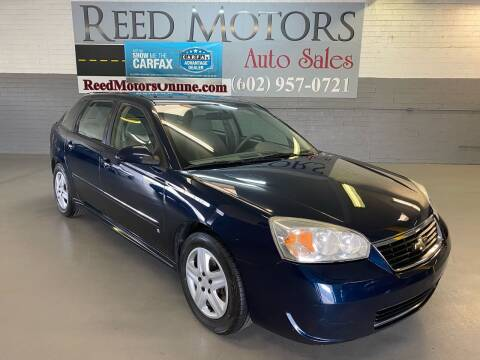 2006 Chevrolet Malibu Maxx for sale at REED MOTORS LLC in Phoenix AZ