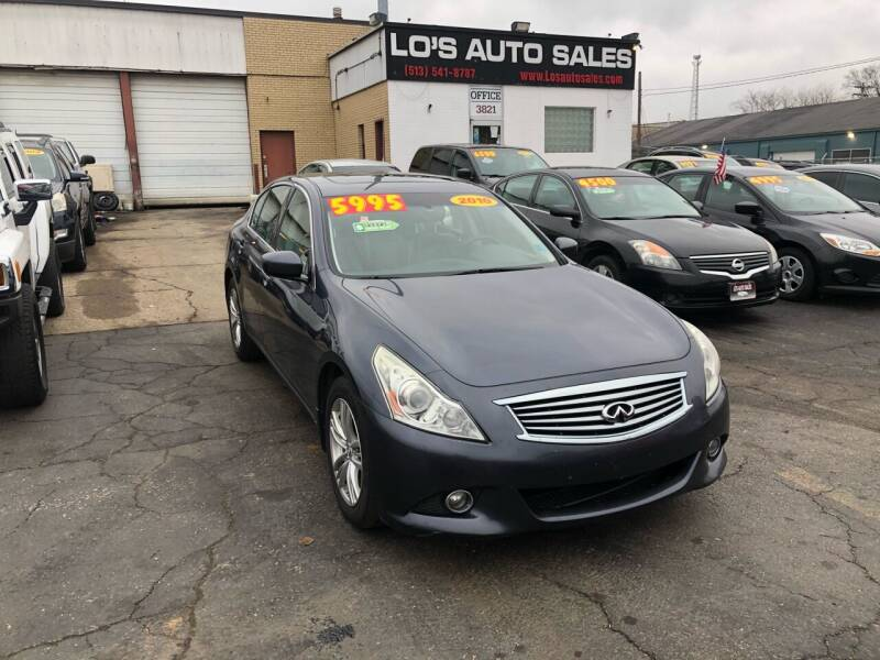 2010 Infiniti G37 Sedan for sale at Lo's Auto Sales in Cincinnati OH