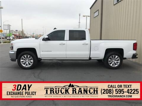 2018 Chevrolet Silverado 1500 for sale at Truck Ranch in Twin Falls ID