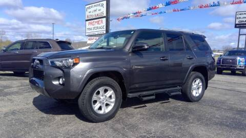 2018 Toyota 4Runner for sale at Premier Auto Sales Inc. in Big Rapids MI