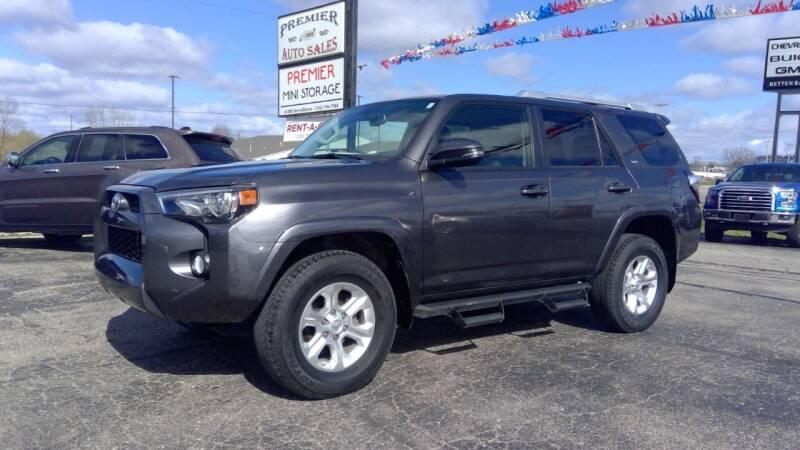 2018 Toyota 4Runner for sale at Premier Auto Sales Inc. in Big Rapids MI