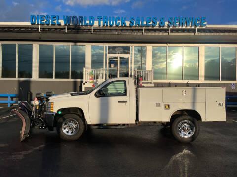 2013 Chevrolet Silverado 2500HD for sale at Diesel World Truck Sales in Plaistow NH