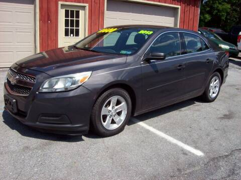 2013 Chevrolet Malibu for sale at Clift Auto Sales in Annville PA