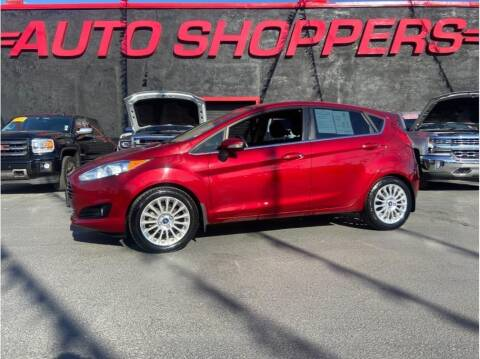 2015 Ford Fiesta for sale at AUTO SHOPPERS LLC in Yakima WA
