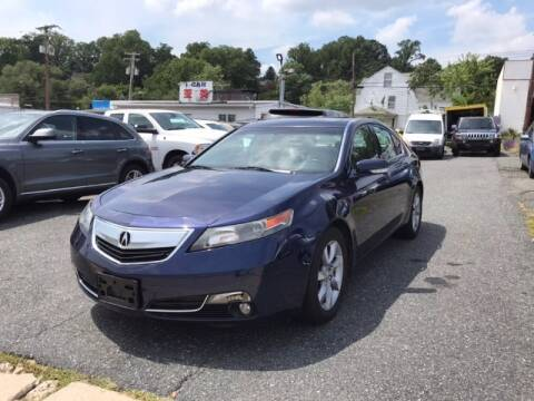 2013 Acura TL for sale at Bay Motors Inc in Baltimore MD