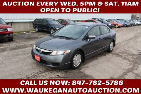 2009 Honda Civic for sale at Waukegan Auto Auction in Waukegan IL