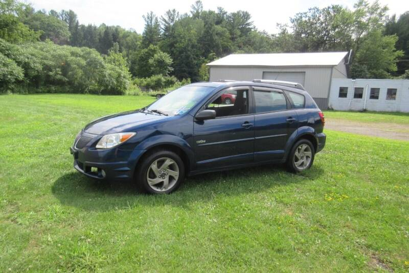 2005 Pontiac Vibe for sale at Clearwater Motor Car in Jamestown NY