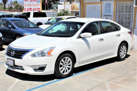 2014 Nissan Altima for sale at FJ Auto Sales in North Hollywood CA