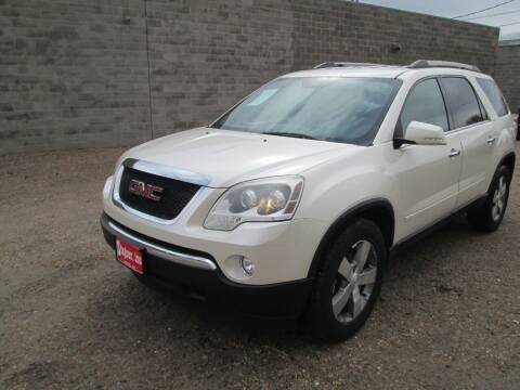 2012 GMC Acadia for sale at Stagner INC in Lamar CO