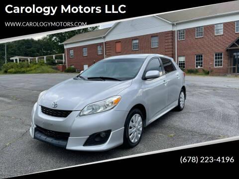 2010 Toyota Matrix for sale at Carology Motors LLC in Marietta GA
