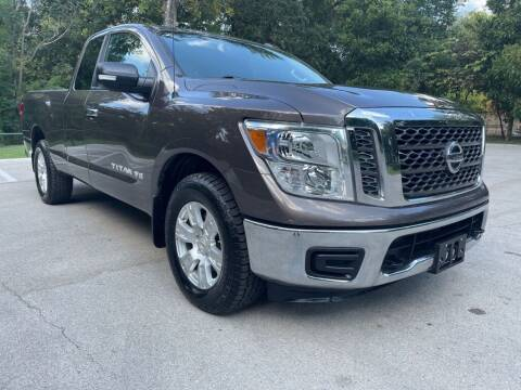 2018 Nissan Titan for sale at Thornhill Motor Company in Lake Worth TX