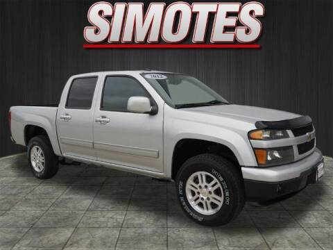 2012 Chevrolet Colorado for sale at SIMOTES MOTORS in Minooka IL