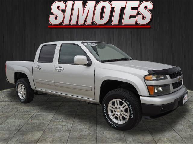 2012 Chevrolet Colorado for sale at SIMOTES MOTORS in Minooka IL