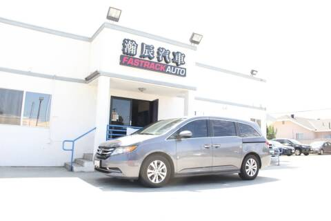 2014 Honda Odyssey for sale at Fastrack Auto Inc in Rosemead CA
