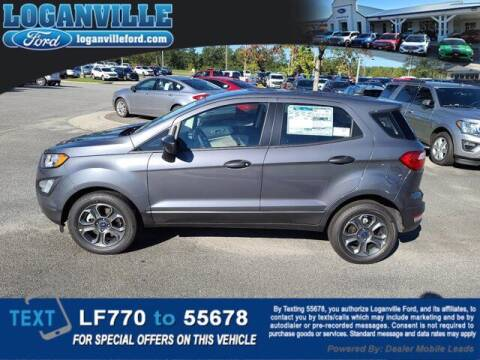 2020 Ford EcoSport for sale at Loganville Quick Lane and Tire Center in Loganville GA