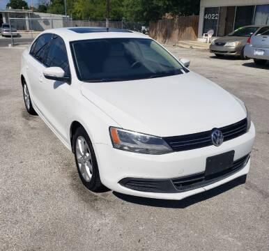 2013 Volkswagen Jetta for sale at Apex Auto SA in San Antonio TX