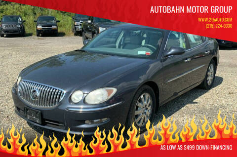 2009 Buick LaCrosse for sale at Autobahn Motor Group in Willow Grove PA