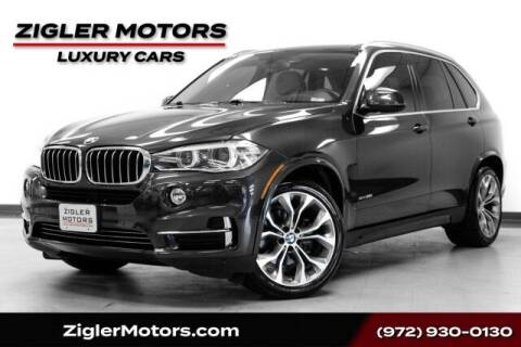 2016 BMW X5 for sale at Zigler Motors in Addison TX