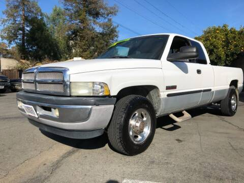 2002 Dodge Ram Pickup 2500 for sale at Martinez Truck and Auto Sales in Martinez CA