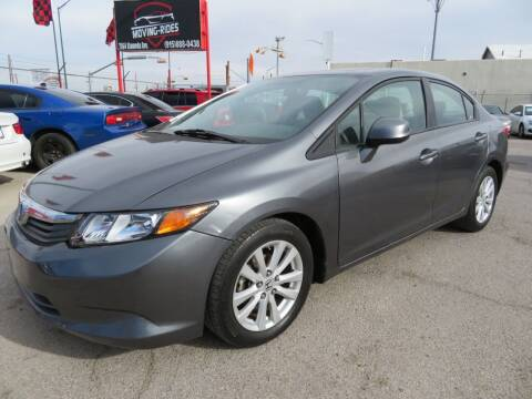 2012 Honda Civic for sale at Moving Rides in El Paso TX