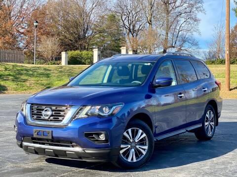 2017 Nissan Pathfinder for sale at Sebar Inc. in Greensboro NC