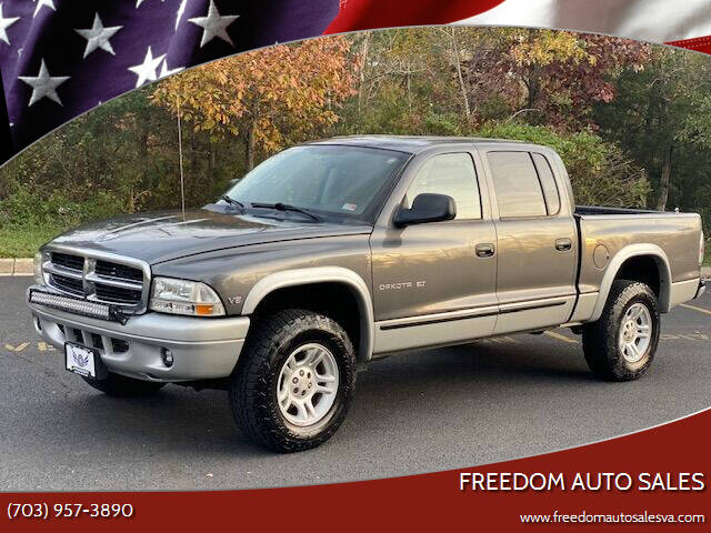 2002 Dodge Dakota for sale at Freedom Auto Sales in Chantilly VA