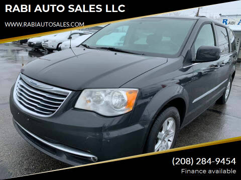 2012 Chrysler Town and Country for sale at RABI AUTO SALES LLC in Garden City ID