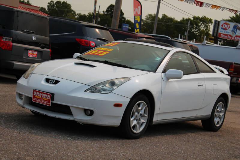 2001 Toyota Celica for sale at SOLOMA AUTO SALES in Grand Island NE