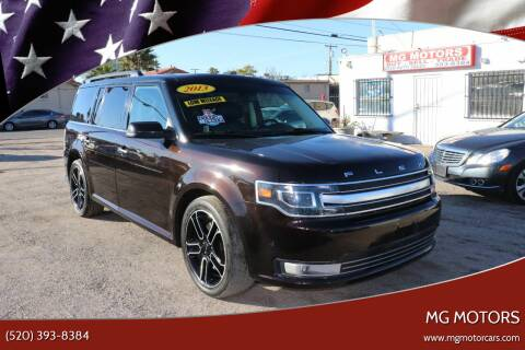 2013 Ford Flex for sale at MG Motors in Tucson AZ