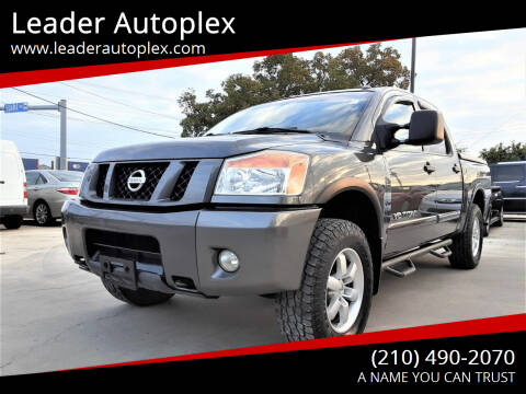 2010 Nissan Titan for sale at Leader Autoplex in San Antonio TX